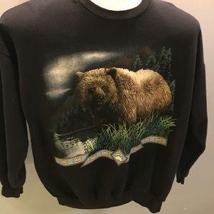 Sweaters - Nice black bear sweater